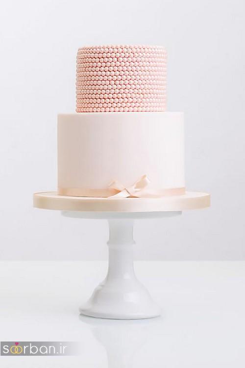 کیک عروسی رمانتیک و زیبا 2017-8