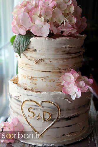 کیک عروسی رمانتیک و زیبا 2017-26