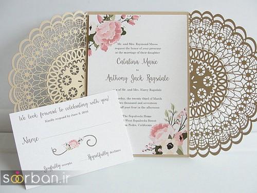 کارت عروسی خارجی زیبا و جدید-2