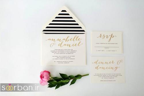 کارت عروسی خارجی زیبا و جدید-4