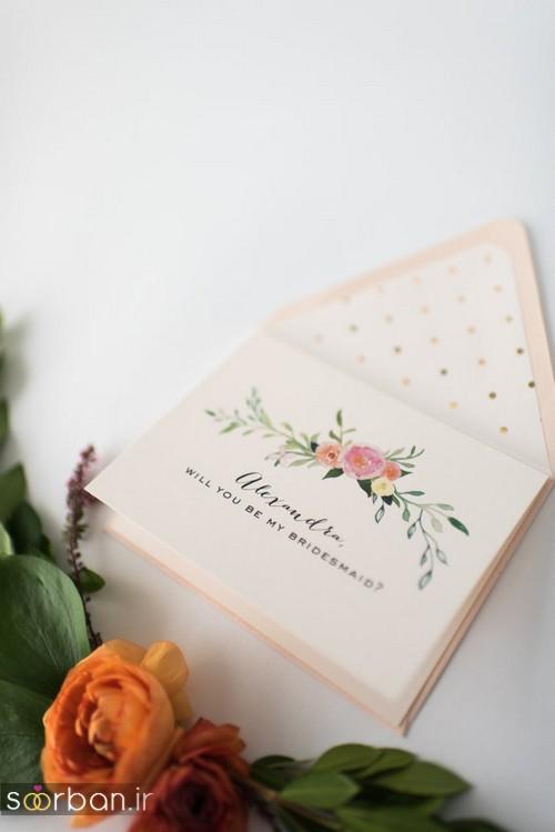 کارت عروسی خارجی زیبا و جدید-5