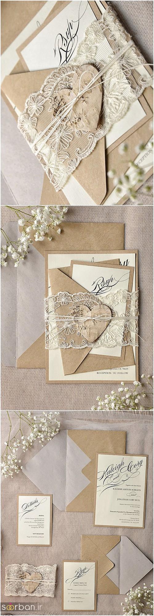 کارت عروسی خارجی زیبا و جدید-6