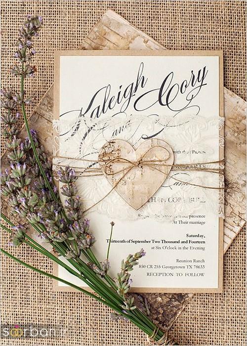 کارت عروسی خارجی زیبا و جدید-9