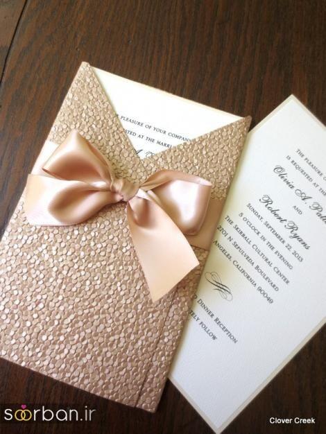 کارت عروسی خارجی زیبا و جدید-12