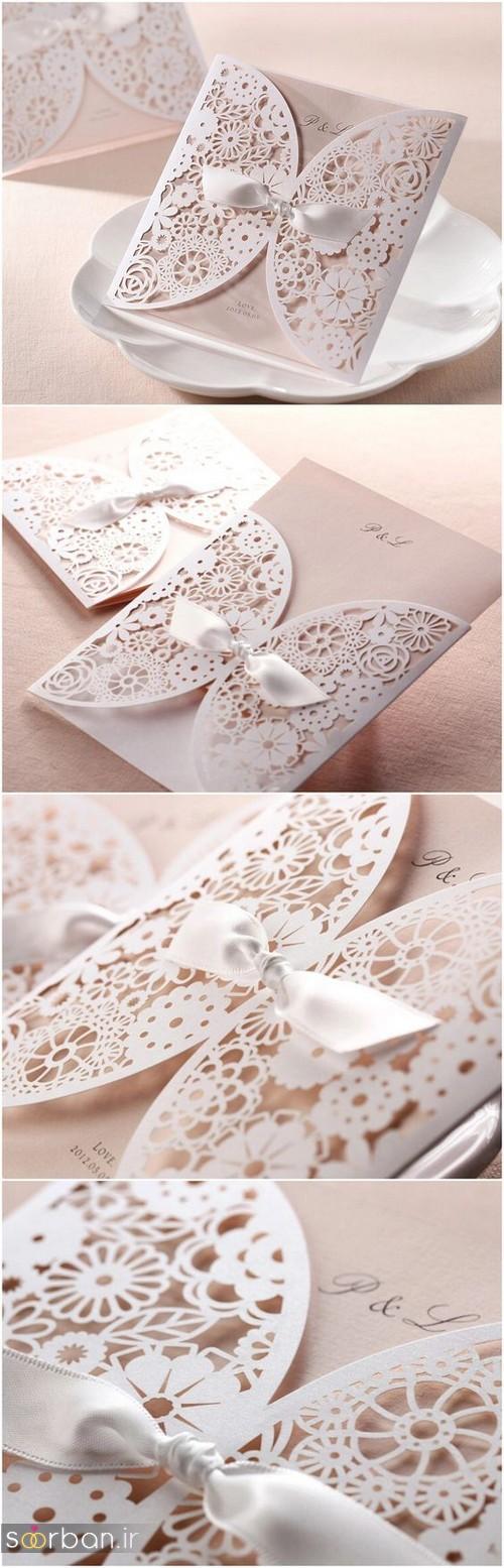 کارت عروسی خارجی زیبا و جدید-13