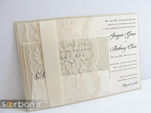 کارت عروسی خارجی زیبا و جدید-15