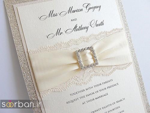 کارت عروسی خارجی زیبا و جدید-16
