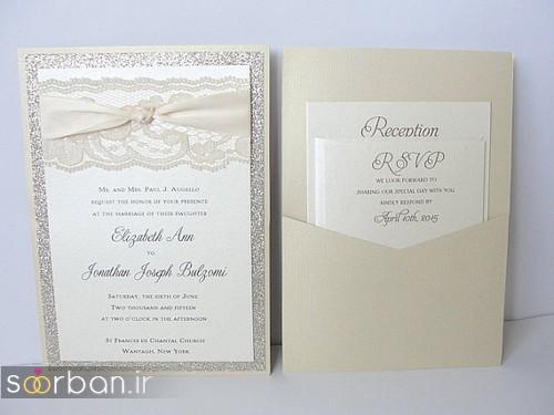 کارت عروسی خارجی زیبا و جدید-19