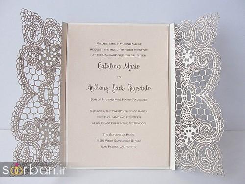 کارت عروسی خارجی زیبا و جدید-20