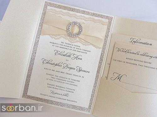 کارت عروسی خارجی زیبا و جدید-24