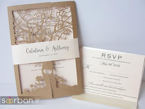 کارت عروسی خارجی زیبا و جدید-25