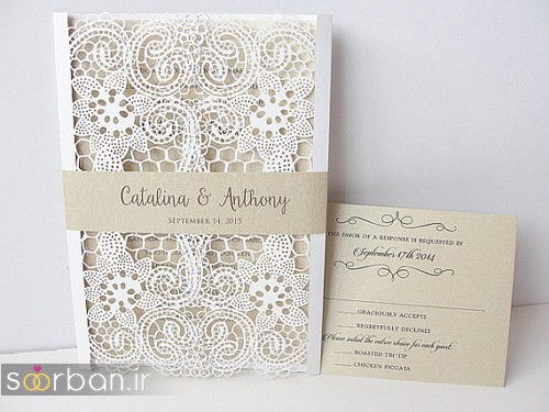 کارت عروسی خارجی زیبا و جدید-26