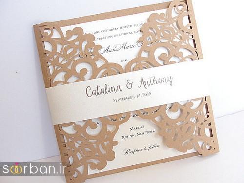 کارت عروسی خارجی زیبا و جدید-27
