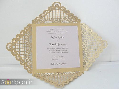 کارت عروسی خارجی زیبا و جدید-29