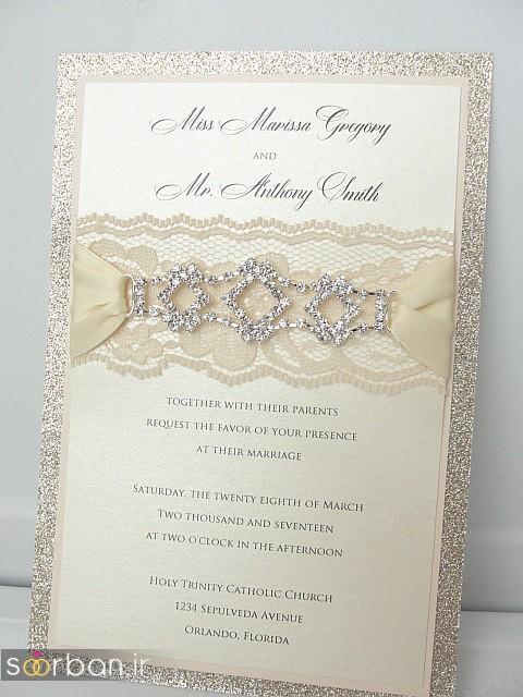 کارت عروسی خارجی زیبا و جدید-31