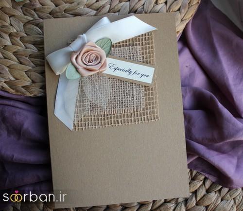 کارت عروسی خارجی زیبا و جدید-34
