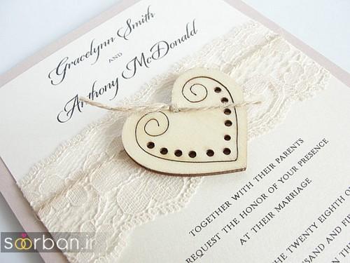 کارت عروسی خارجی زیبا و جدید-36