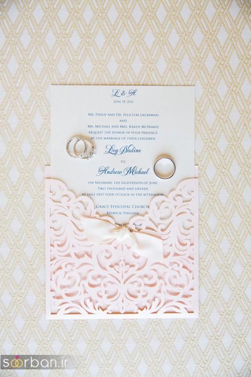 کارت عروسی خارجی زیبا و جدید-38