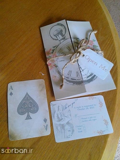 کارت عروسی خلاقانه-12