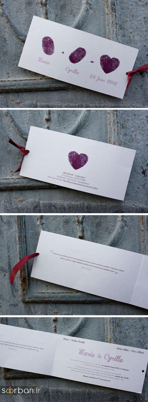 کارت عروسی خلاقانه-17