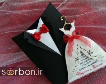 کارت عروسی خلاقانه-19
