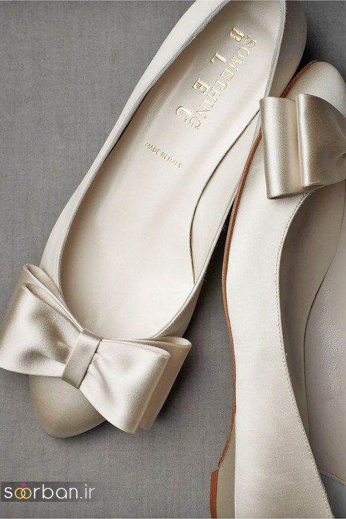 کفش عروس راحت و تخت -5