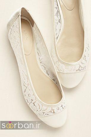 کفش عروس راحت و تخت -10