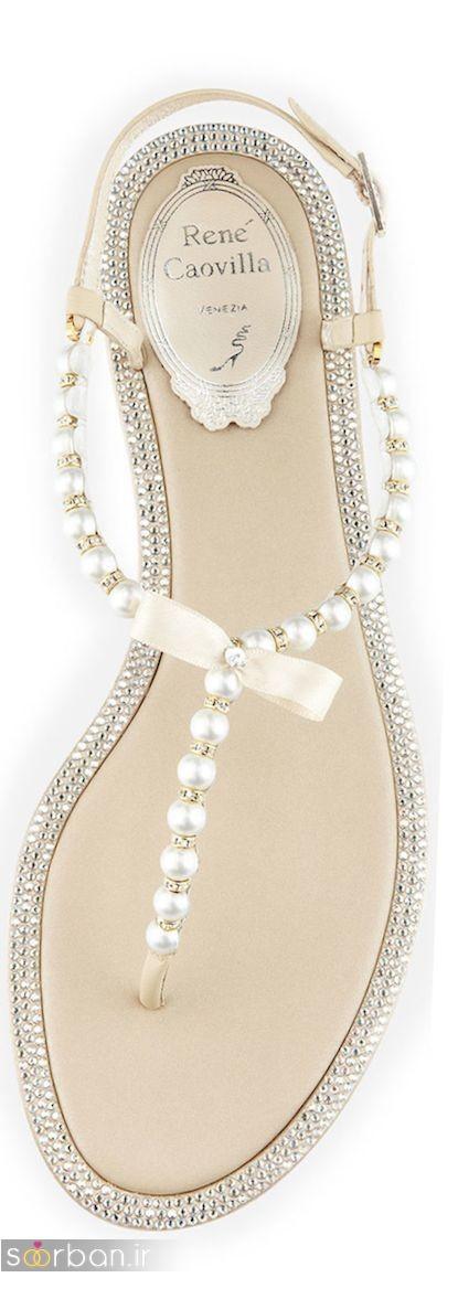 کفش عروس راحت و تخت -11
