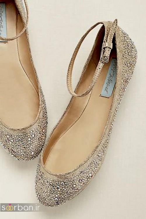 کفش عروس راحت و تخت -22