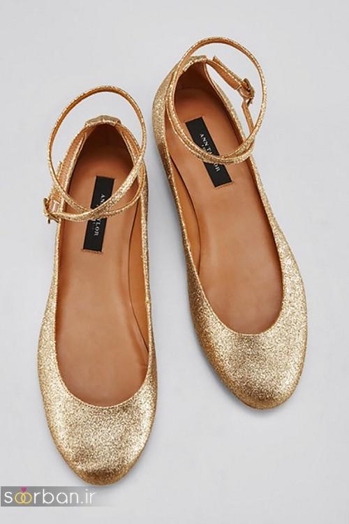 کفش عروس راحت و تخت -23