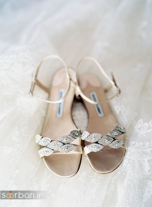 کفش عروس راحت و تخت -21