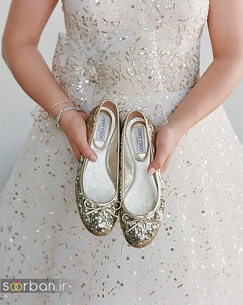 کفش عروس راحت و تخت -29