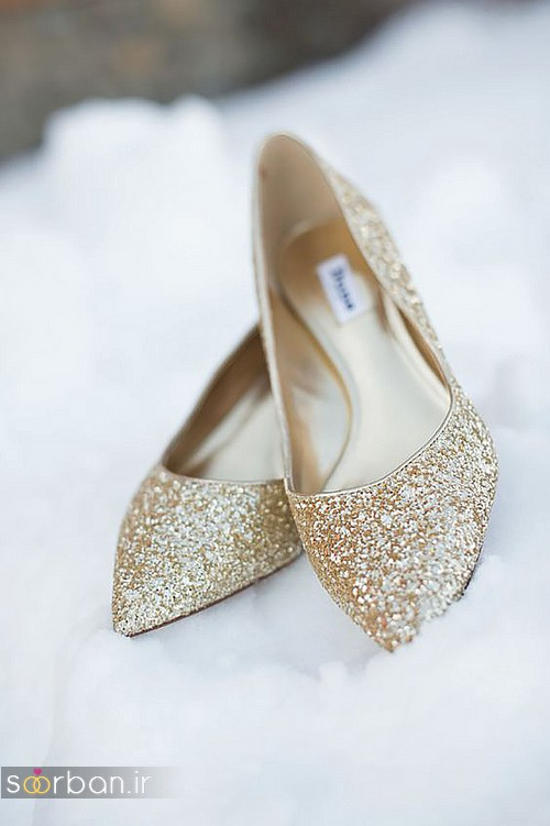 کفش عروس راحت و تخت -28