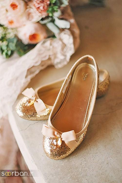 کفش عروس راحت و تخت -30
