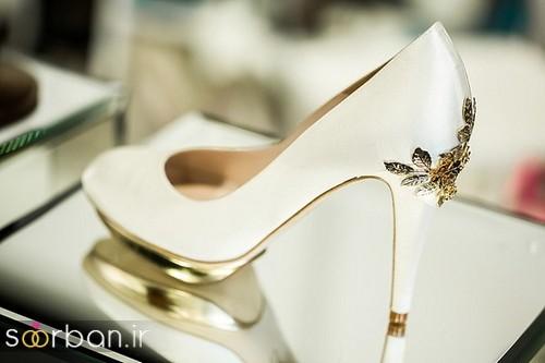 کفش عروس سفید بسیار شیک-8