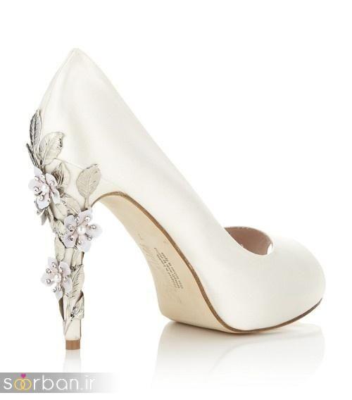 کفش عروس سفید بسیار شیک-17