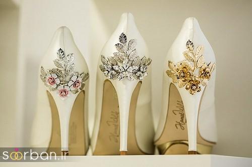 کفش عروس سفید بسیار شیک-22