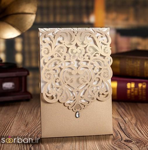 کارت عروسی | جدیدترین مدل های کارت عروسی لوکس و خاص