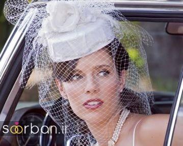 30 مدل کلاه عروس توری و کلاسیک جدید