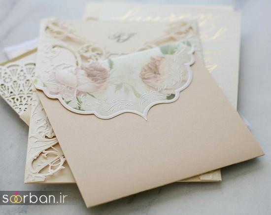 جدیدترین کارت عروسی فانتزی خارجی-3