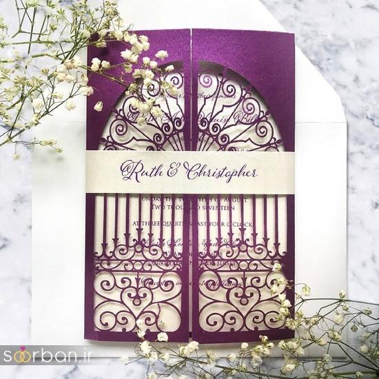 جدیدترین کارت عروسی فانتزی خارجی-21