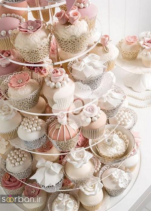 کاپ کیک عروسی 2017