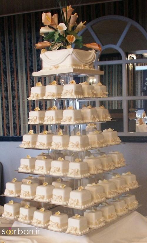 کاپ کیک عروسی جدید 2017