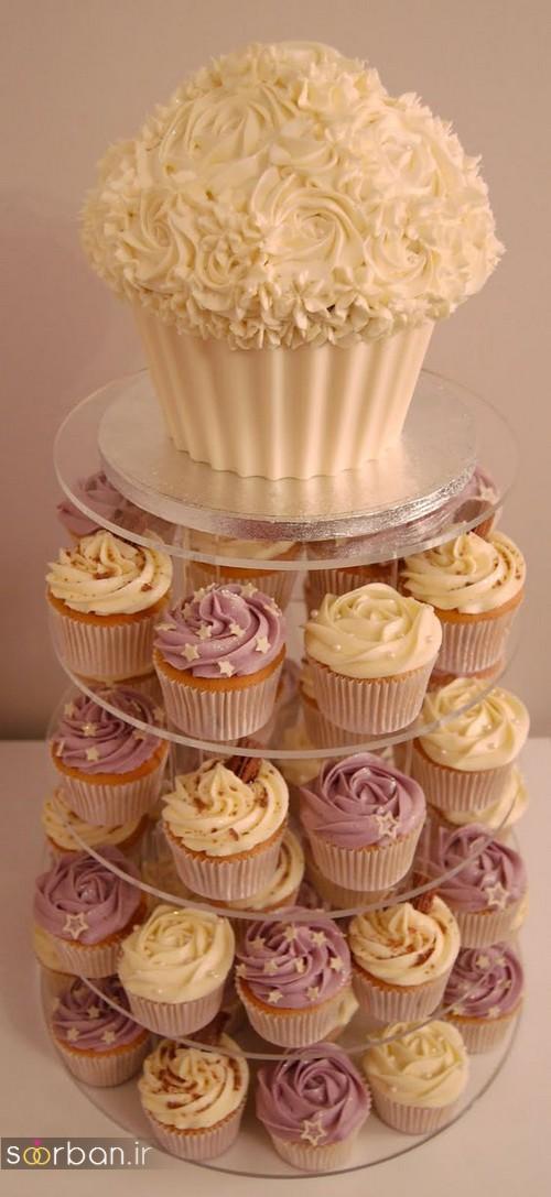 کاپ کیک خوشگل عروسی 2017