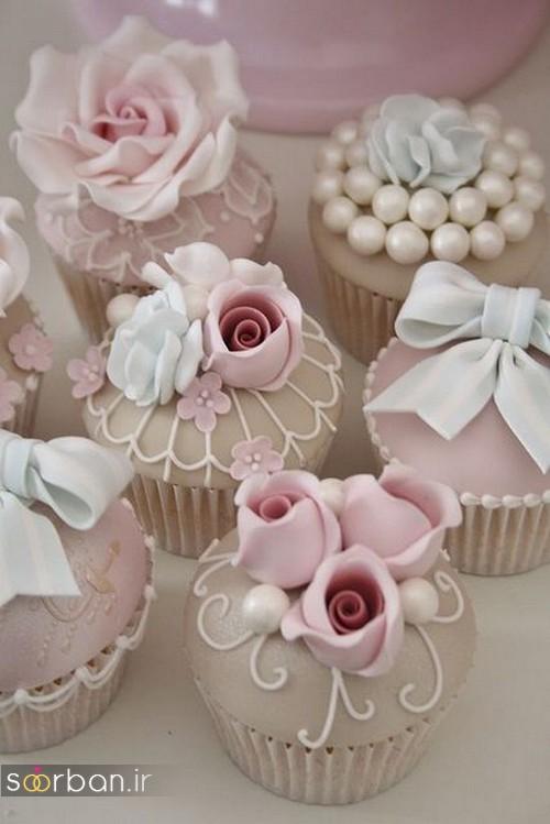 کاپ کیک عروسی خاص 2017
