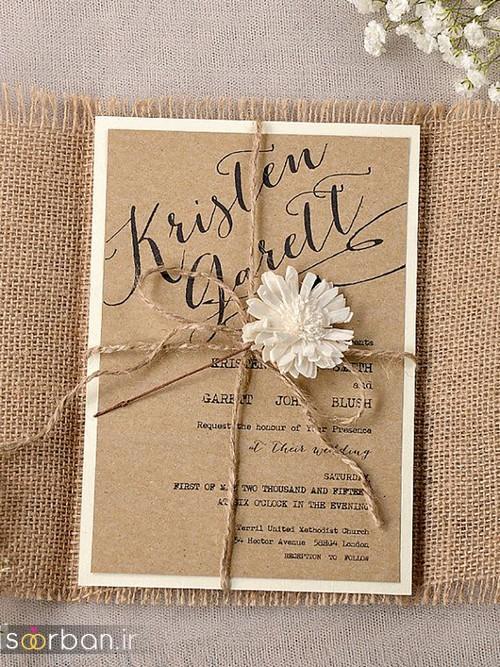 کارت عروسی خاص و شیک-27