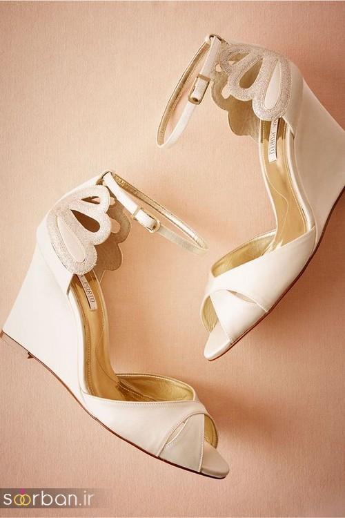 30 مدل کفش عروس لژدار جذاب جدید
