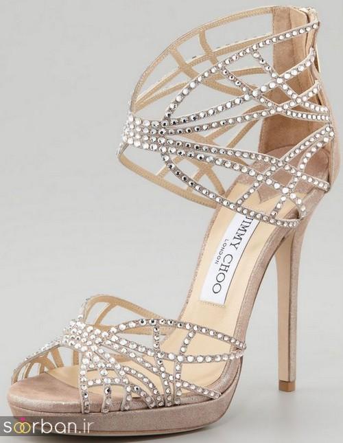 کفش عروس پاشنه بلند 2017-4