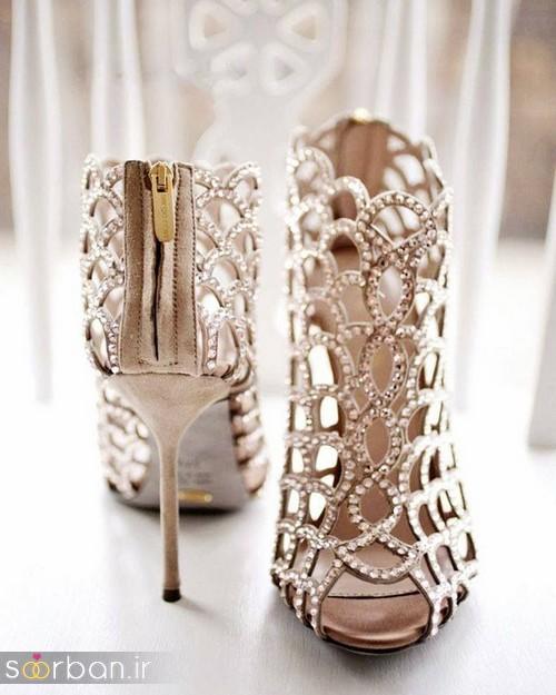 کفش عروس پاشنه بلند 2017-5