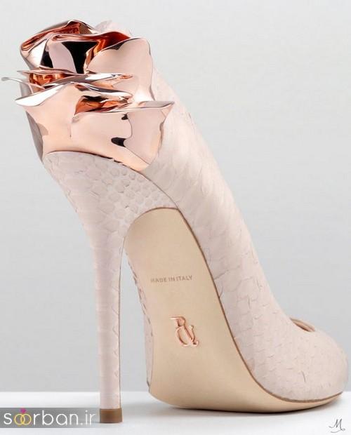 کفش عروس پاشنه بلند 2017-8